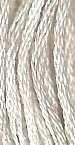 Primary image for Chalk (7054) 6 strand hand-dyed cotton floss Gentle Art Sampler Threads GAST