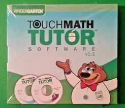 Touch Math Tutor Software Kindergarten CD-ROM (2011 Release) *see system... - $44.96