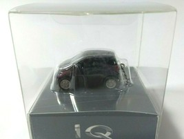 TOYOTA iQ Light Keychain Bordeaux metallic Pull Back Mini Car Not Sold in store - $24.03