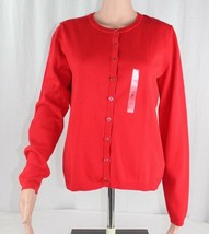 Tommy Hilfiger Damen American Knopfverschluss Strickjacke Pullover GRÖSS... - $24.16