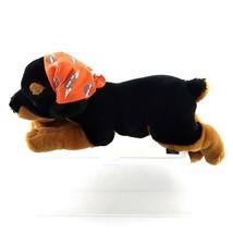 Harley Davidson Rottweiler Plush Dog Toy Stuffed Animal with Bandana 15 ... - $14.84