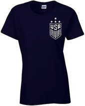 World Champions 2019 Soccer Front and Back Ladies Junior Fit Tee Shirt 1001 - $9.85+