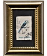 Tchotchke Stamp Art - World Wildlife - Azure Tit - $8.99
