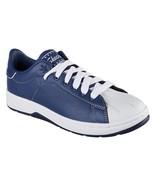 Skechers ALPHA-LITE FAIR SHARE Navy Blue White Leather Retro Sneakers Wm... - $56.99