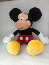 DISNEY Store Mickey Mouse Plush Stuffed Animal Authentic Toy 18 Inch - $10.00