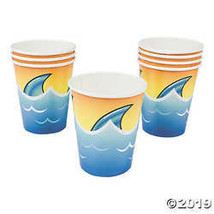 Jawsome Shark 9oz Cups for Party - Party Supplies - $2.99
