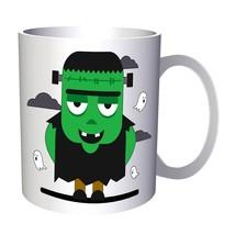 Scary Halloween Pumpkin 11oz Mug q162 - $203,52 MXN
