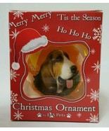 "Basset Hound Dog Shatterproof 3"" Ball Ornament  E&S Pets CBO-2 Holiday D... - $8.95"