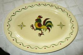 "Metlox Poppytrail Provincial 13 3/4"" Oval Platter - $22.00"