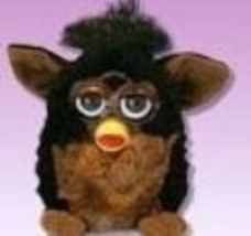 "Furby Model 70-800 ""Gorilla"" Black + Brown Electronic Furbie - $85.46"