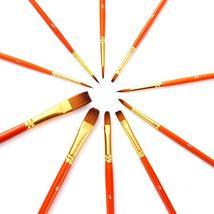 50 PCs Watercolor Pen Red Rod  Nylon Hair Coloring Brush Pen Painting - $17.51