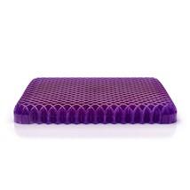 Seat Cushion Chair Royal Purple High Quality Honeycomb Gel Core Sitting ... - $65.10