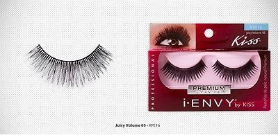 I ENVY by KISS PREMIUM JUICY VOLUME 05 LASHES KPE16 100% REMY HUMAN HAIR