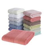 Luxury Bath Towel 100% Cotton Beach Towel Adults Fast Drying Soft 17 Col... - $23.09