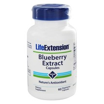Life Extension Blueberry Extract Capsules, 60 Vegetarian Capsules - $17.55