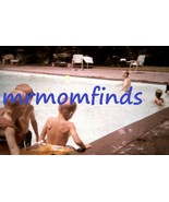 Vtg 35mm Sllide July/1962 Ektachrome ~  kids playing in pool - $9.89