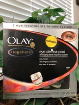 Olay Regenerist Eye Derma-Pod - 3 Eye Treatments In One System - 24 Applicators - $50.00