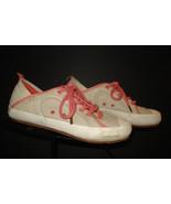 "Patagonia ""Patrol Cream/Salmon"" Woven Hemp Casual Cool Sneaker Sz. 5 Exc... - $33.84"