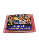 Best 138 in 1 Game Cartridge 16 bit MD Game Card For Sega Mega Drive - $25.90