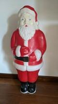 Santa Blow Mold 1990 Union Products MA No Light Christmas Holiday Santa ... - $49.49