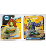 Hot Wheels DC Universe Poison Ivy First Appearance and The Joker Charact... - $15.95