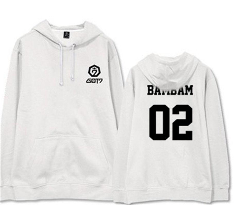 KPOP GOT7 Sweatershirt FLIGHT LOG ARRIVAL Cap Hoodie Sweater Jackson Coat Bambam