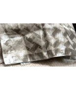 "Vintage Silver Metallic Semi-sheer 46"" Oblong Scarf - $13.00"