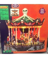Lemax Halloween Spooky Town animated Scary-Go-R... - $109.99