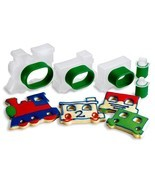 Cuisipro Train Set Snap-Fit 5-Piece Cookie Cutter Set - €8,64 EUR