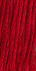 Primary image for Buckeye Scarlet (0390) 6 strand hand-dyed cotton floss Gentle Art Sampler Thread