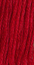 Buckeye Scarlet (0390) 6 strand hand-dyed cotton floss Gentle Art Sample... - $2.15