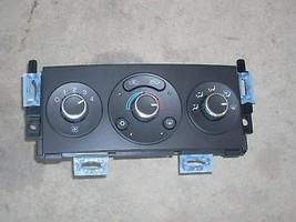 2009 PONTIAC G6 TEMPERATURE CONTROL