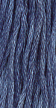 Blue Jay (0210) 6 strand hand-dyed cotton floss Gentle Art Sampler Threads - $2.15