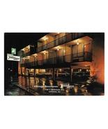IL Chicago TraveLodge Motel Downtown Night Vintage Postcard Advert - $4.99
