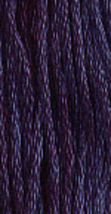 Black Raspberry Jam (7021) 6 strand hand-dyed cotton floss Gentle Art Sampler  - $2.15