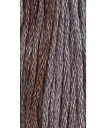 Barn Grey (7001) 6 strand hand-dyed cotton flos... - $2.15
