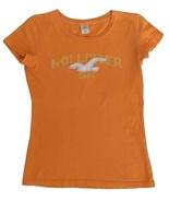 Hollister Size S Womens Orange T-Shirt - $5.99