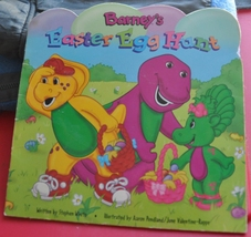 Barney's Easter Egg Hunt Book - Baby Bop plays I Spy as she looks for eggs.  - $1.00