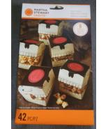 Martha Stewart Crafts 6 Gothic Manor Skull Treat Boxes Halloween Candy B... - $7.99