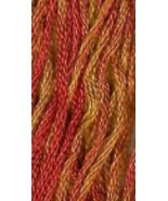 Autumn Leaves (7073) 6 strand hand-dyed cotton ... - $2.15