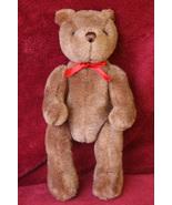 Retired Gund Brown Jointed Bear - $19.99