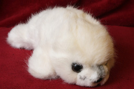 Russ White Seal Stuffed Animal - $11.99