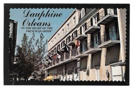 Dauphine Orleans Motor Hotel Motel New Orleans LA Vtg Postcard 4X6 - $4.99