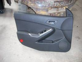 2009 PONTIAC G6 LEFT FRONT DOOR TRIM PANEL