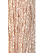 Apricot Blush (0620) 6 strand hand-dyed cotton ... - $2.15