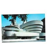 Guggenheim Museum New York NY Frank Lloyd Wright Vintage Postcard - $4.99