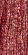 Antique Rose (7014) 6 strand hand-dyed cotton floss Gentle Art Sampler Threads - $2.15