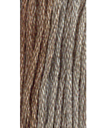 Aged Pewter (7032) 6 strand hand-dyed cotton fl... - $2.15