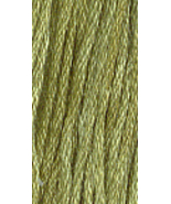 Avocado (0130) 6 strand hand-dyed cotton floss ... - $2.15