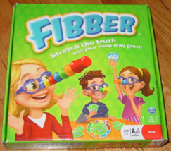 FIBBER GAME STRETCH THE TRUTH GAME NOSE MAY GROW SPIN MASTER COMPLETE EX... - $25.00